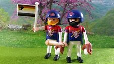 PLAYMOBIL ADULTE COUPLE PRIDE ORGULLO BASEBALL UNIFORME GAY BEAR OURS HOMO LGTB