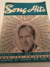 Vintage August 1941 Song Hits Magazine Kay Kyser Cover Song Lyrics Music