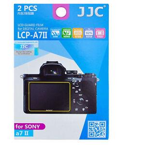 JJC LCP-A7II  LCD Screen Protector For Sony A7 II A7II A7 A7R II III IV Cover