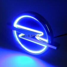 Blue Auto 5D LED Car Tail Logo Light Badge Emblem Lamp For Opel 13.3cm X 10.1cm