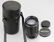 PENTAX SUPER TAKUMAR -135MM f 3.5  LENS-42MM Screw Mount/Case (free shipping)