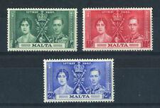 Lightly Hinged George VI (1936-1952) Maltese Stamps