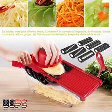 Manual Vegetable Slicer Potato Fruit Cutter Stainless Steel Mandoline Kitchen