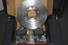 Discos de Freno y Pastillas Audi,Seat,Skoda,VW Kit para Traseras 272x10mm
