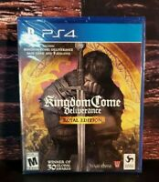 Kingdom Come Deliverance Royal Edition - PS4 - Sony PlayStation 4 - NEW Sealed