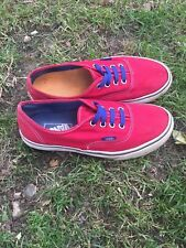 7a489dc9a1 Womens Red Vans Trainers