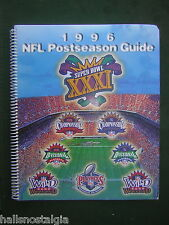 1996 NFL Postseason Playoffs Guide - Destination New Orleans, SUPER BOWL XXXI