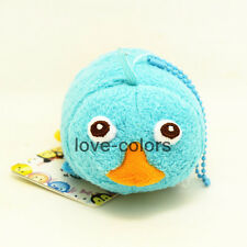New Disney Tsum Tsum Perry in Phineas and Ferb Platypus Perry plush Toy Doll