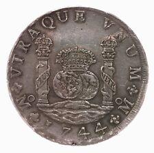 1744-Mo MF Mexico 8R Pillar Dollar PCGS Certified AU53 Calico-797
