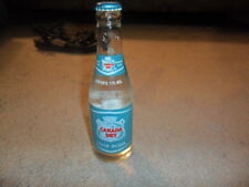 Vintage Unopened New Canada Dry Club Soda Glass Bottle
