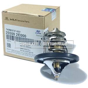 HYUNDAI KIA OEM Genuine Parts 25500-2E000 Thermostat Assembly [MADE IN KOREA]