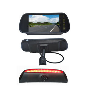 7 Inch Replacement Rear View Screen Display & Reverse Camera for Iveco Daily Van