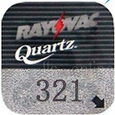 2 Rayovac 321 Silver oxide Watch Batteries SR616SW SR65