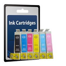 6  Ink Cartridge Replace T0481 - T0486 T0487 NOT original Epson
