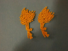 WHEAT STACK EMBROIDERY APPLIQUE PATCH EMBLEM LOT (24 DOZEN)