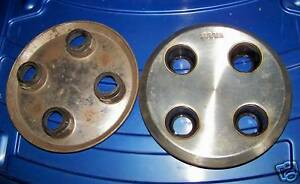 Wheel Hubcap stainless steel Saab 900 Saab 99, 90 RARE