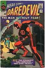 DAREDEVIL  10   GREAT WALLY WOOD COVER  VG+ COPY