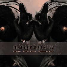 ORDO ROSARIUS EQUILIBRIO Menage A Quatre - MCD - Digipak (Limited 1000)