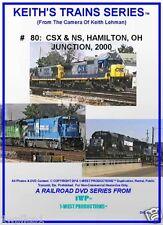 Keith's Trains Series RR DVD Title #80 CSX & NS HAMILTON, OH JUNCTION 2000