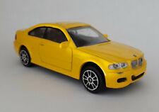 Miniature BMW M3 type E46, échelle 1/43, marque JoyCity