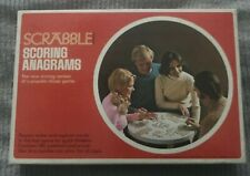 1975 Scrabble Scoring Anagrams Selchow & Righter 180 Letters Crossword