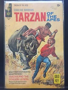 Edgar Rice Burroughs' Tarzan of the Apes #192 (June 1970) (Gold Key 1948)