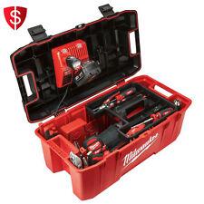 Work Tool Box Power Tools Storage Portable Organizer Lockable Toolbox Case Job