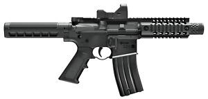 Crosman A4-P - Full-Automatic .177 Cal CO2 BB Gun Pistol - Red Dot - 400 FPS