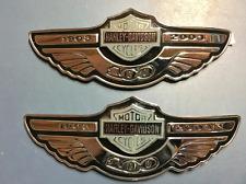 Harley Davidson 100th Anniversary Tank Emblems