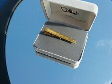 Diamond Colibri TIE BAR 18 KT Gold Electroplate New Old stock ATA018Y