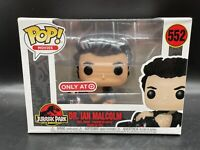 Target FUNKO POP! MOVIES DR. IAN MALCOLM (WOUNDED) Figure # 552 Jurassic Park