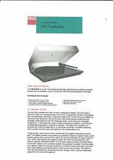 NAD Bedienungsanleitung für  533  user owner´s manual  englisch Copy