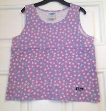 OSH KOSH girls purple/floral top 100% cotton age 7 yrs
