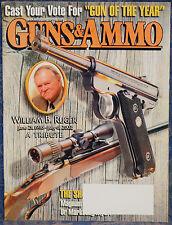 Magazine GUNS & AMMO November 2002 !!! WILLIAM B. RUGER - A TRIBUTE !!!