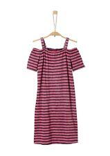 s.Oliver Junior Girls Jerseykleid im Cold Shoulder-Look Neu
