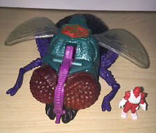 Mighty Max Squishes Fly  playset doom zones Bluebird toy 1994 13cm