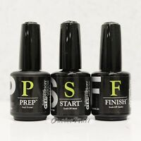 JESSICA Geleration JSC Gel Nail Kit 3pcs PREP + START + FINISH (Primer+Base+Top)