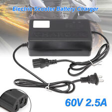 60V Output Electric Scooter Bike E-Bike Power Battery Charger Adapter Pc Plug