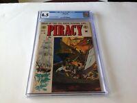 PIRACY 3 CGC 6.5 GREAT REED CRANDALL COVER EC COMICS