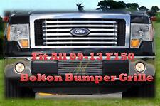 2009- 2014 2010 2011 2012 2013 14 12 13 Ford F150 F-150   Bumper Billet Grille