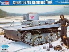 Hobbyboss 1:35 Soviet T-37TU Command Tank Model Kit