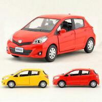 Toyota Yaris 1/36 Die Cast Modellauto Auto Spielzeug Kinder Sammlung Pull Back