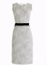 New J. Crew Sheath dress in metallic tweed Size 14