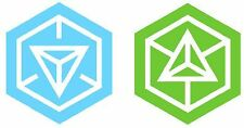 INGRESS Resistance or Enlightened  stickers decals