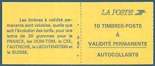 Carnet 10 timbres Briat TVP rouge autoadhésif N°2874-C1 neuf**