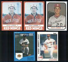1980-90 Steve Luebber Card Lot--Joplin, Clinton MO, Missouri Southern State A367