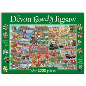 The Devon Family Jigsaw 1000 piece Jigsaw, Gifted Stationery