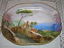 BATIGNANI www.ceramichebatignani.it - PIATTO OVALE DA PARETE RAVELLO CERTIFICATO