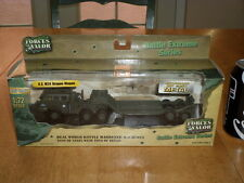 FORCES OF VALOR TOYS - U.S. ARMY M26 DRAGON WAGON, Die Cast Metal Toy,SCALE 1/72