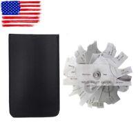 7piece Fillet weld set gage RL gauge Welding Inspection Test Ulnar Metric & inch
